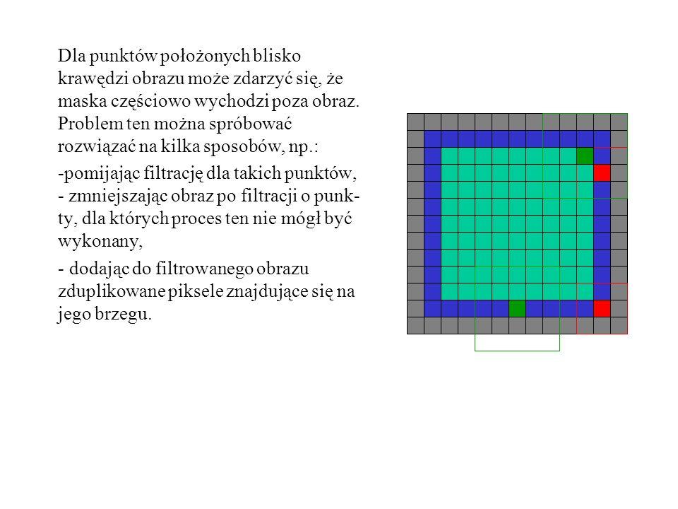 Gradientowe filtry kierunkowe (ang.gradient directional) służą do wykrywania krawędzi w obrazie.