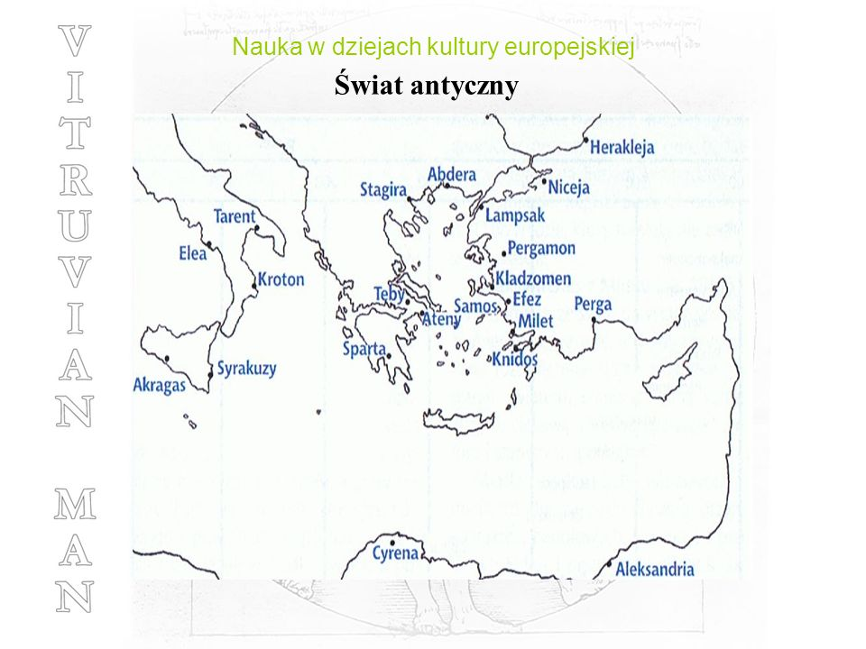 Nauka w dziejach kultury europejskiej Świat antyczny