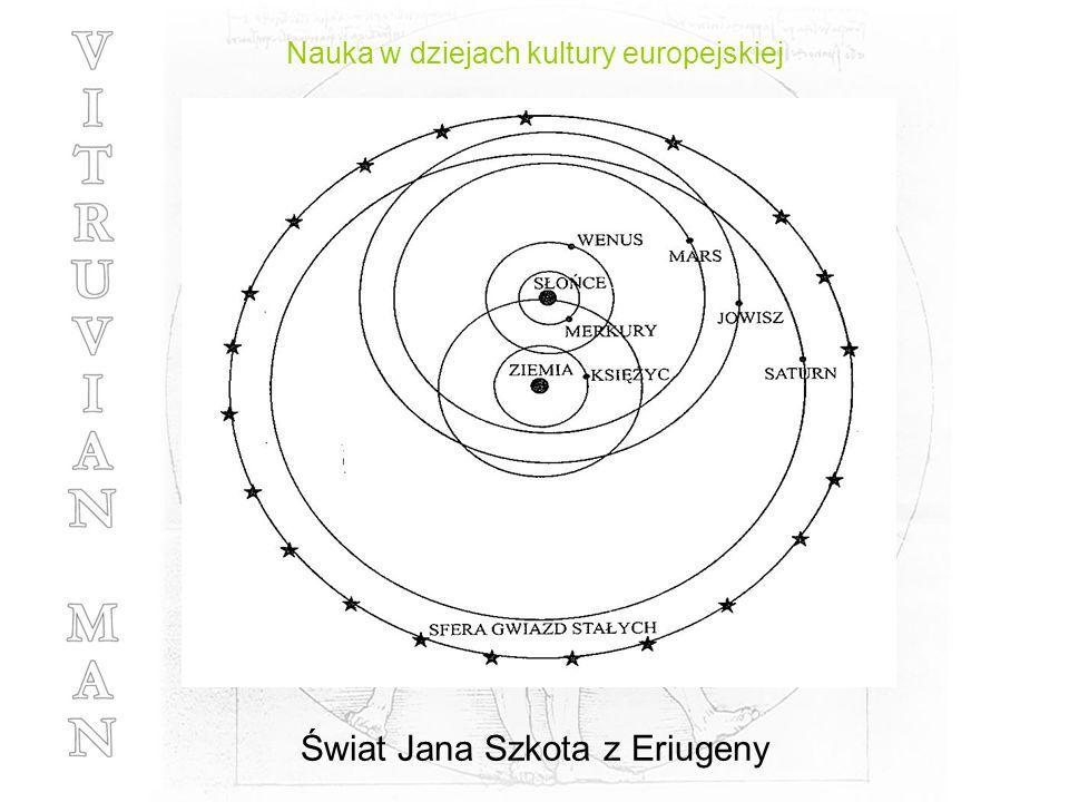 Nauka w dziejach kultury europejskiej Świat Jana Szkota z Eriugeny