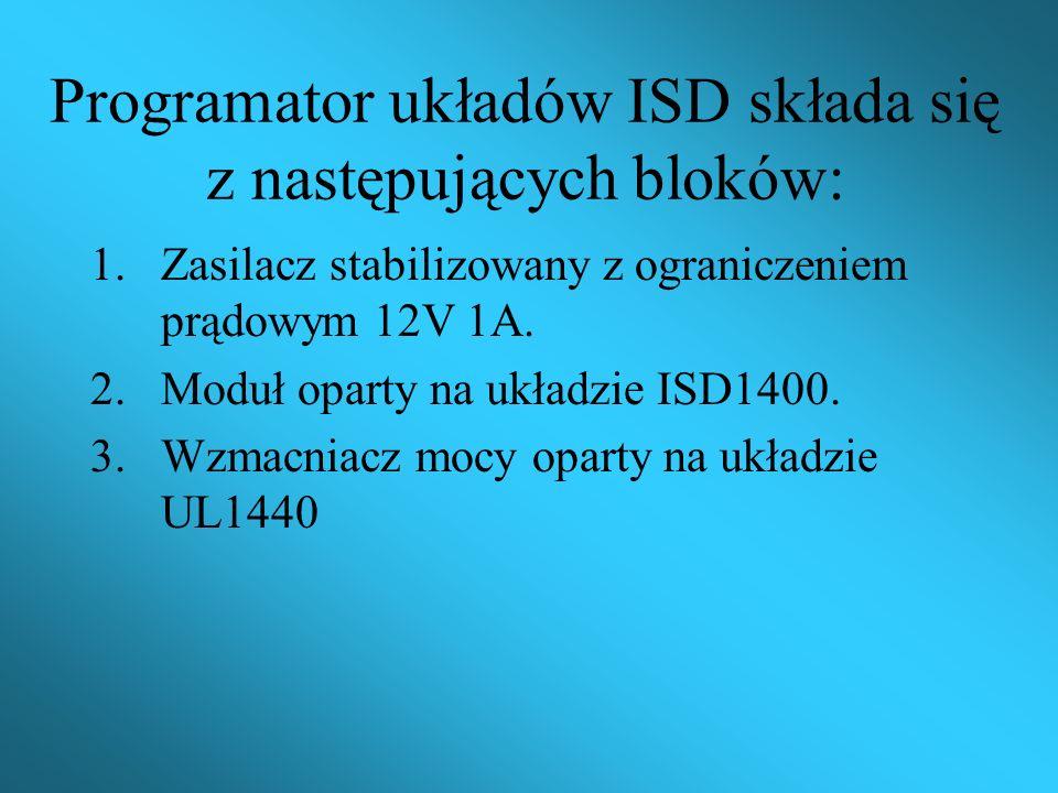 Cel części hardwareowej: Wykonać projekt oraz wykonać programator jednoukładowych rejestratorów sygnałów akustycznych