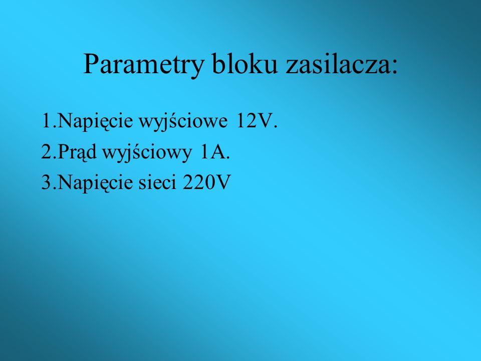 Programator układów ISD składa się z następujących bloków: 1.Zasilacz stabilizowany z ograniczeniem prądowym 12V 1A. 2.Moduł oparty na układzie ISD140