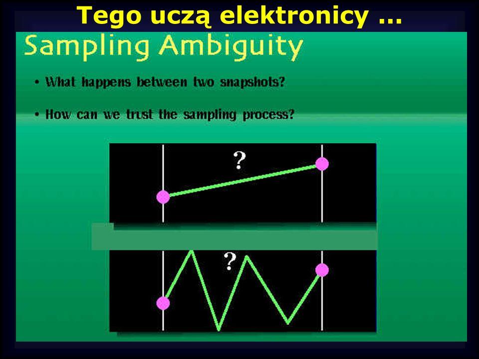 Tego uczą elektronicy...