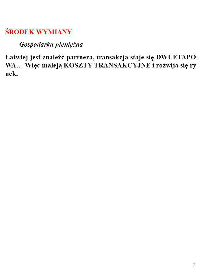 57 Wycinek bilansu Bank of Hypothetia, luty 2008 AKTYWAPASYWA 1.11000+9001000+900 1.2100+9001000+0 1.3280+9001180+0 2.1 2.2 2.3 3.1 Źródło: Hypothetian Banking, nr 3, 2008 r., s.