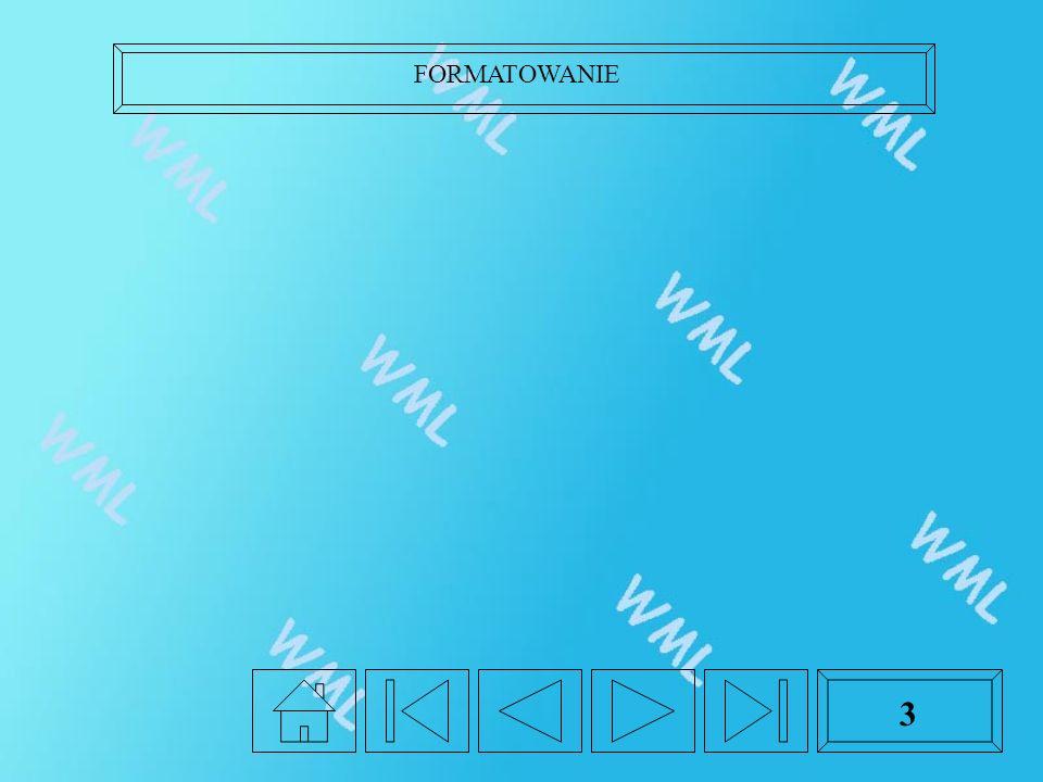 FORMATOWANIE 3