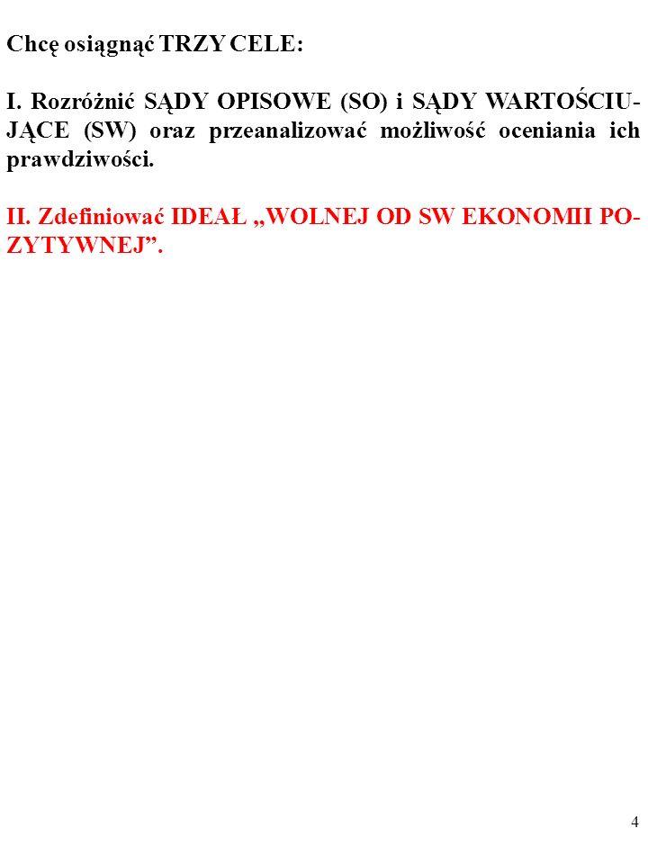84 [O]brona aksjologicznej neutralności ekonomii w połowie XX w.
