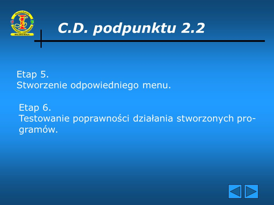 C.D. podpunktu 2.2 Etap 3. Utworzenie mechanizmu umożliwiającego użytkowni- kowi podgląd baz cen, typów oraz kompatybilności poszczególnych elementów.