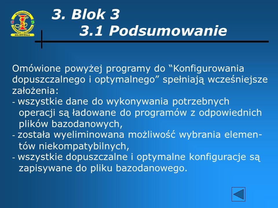 C.D. podpunktu 2.2 Etap 5. Stworzenie odpowiedniego menu. Etap 6. Testowanie poprawności działania stworzonych pro- gramów.