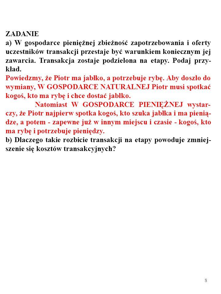 68 JAK BANK CENTRALNY BEZPOŚREDNIO KONTROLUJE STOPĘ PROCENTOWĄ, i n .