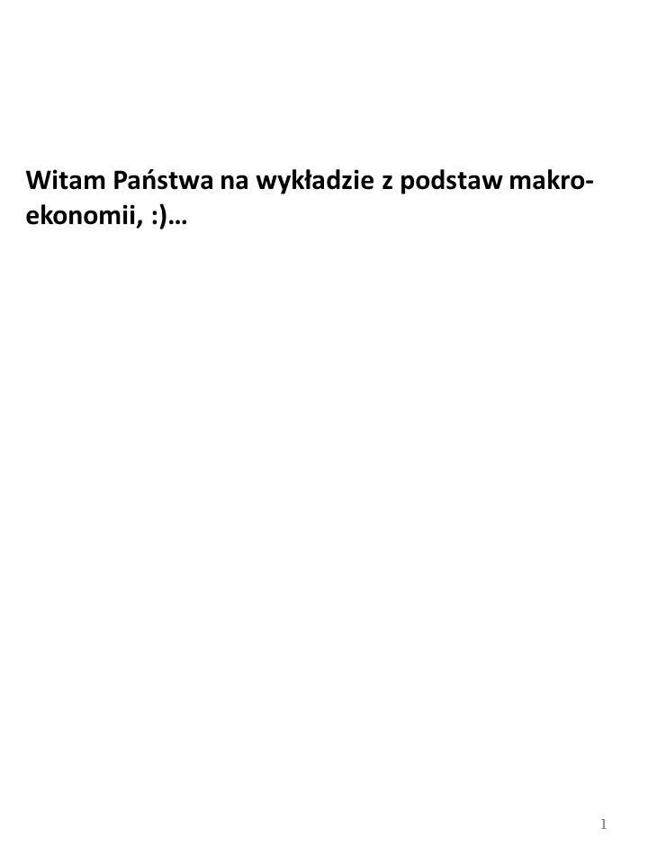 PRZYKŁAD: Według wyliczeń Mieczysława Kabaja z IPiSS w Warszawie np.