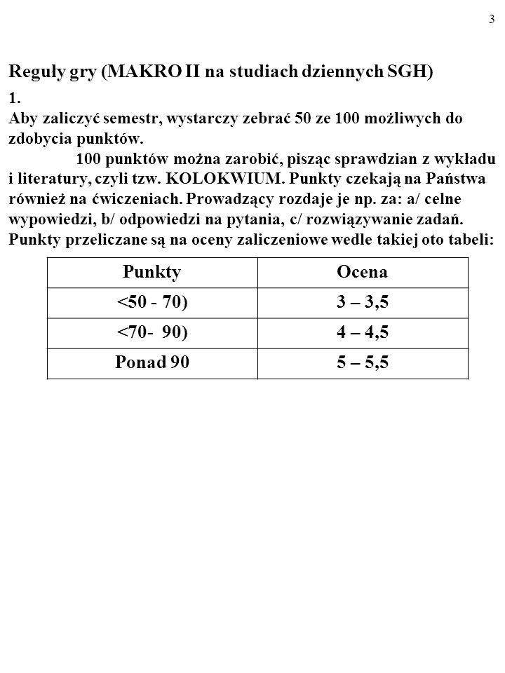 23 X I PRZEDSIĘBIORSTWA GOSPODARSTWA DOMOWE Y d = Y 2 - NT Y 2 PAŃSTWO G NT=T d –B Z S C Y 1 = C+I+G+X-Z ODPŁYWY: oszczędności (S), podatki netto (T d -B), import (Z).