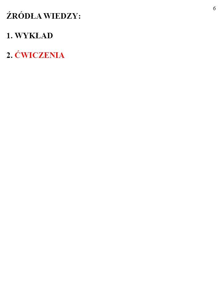 26 3.ZASTOSOWANIA RÓWNANIA: I + G + X = S + NT + Z.