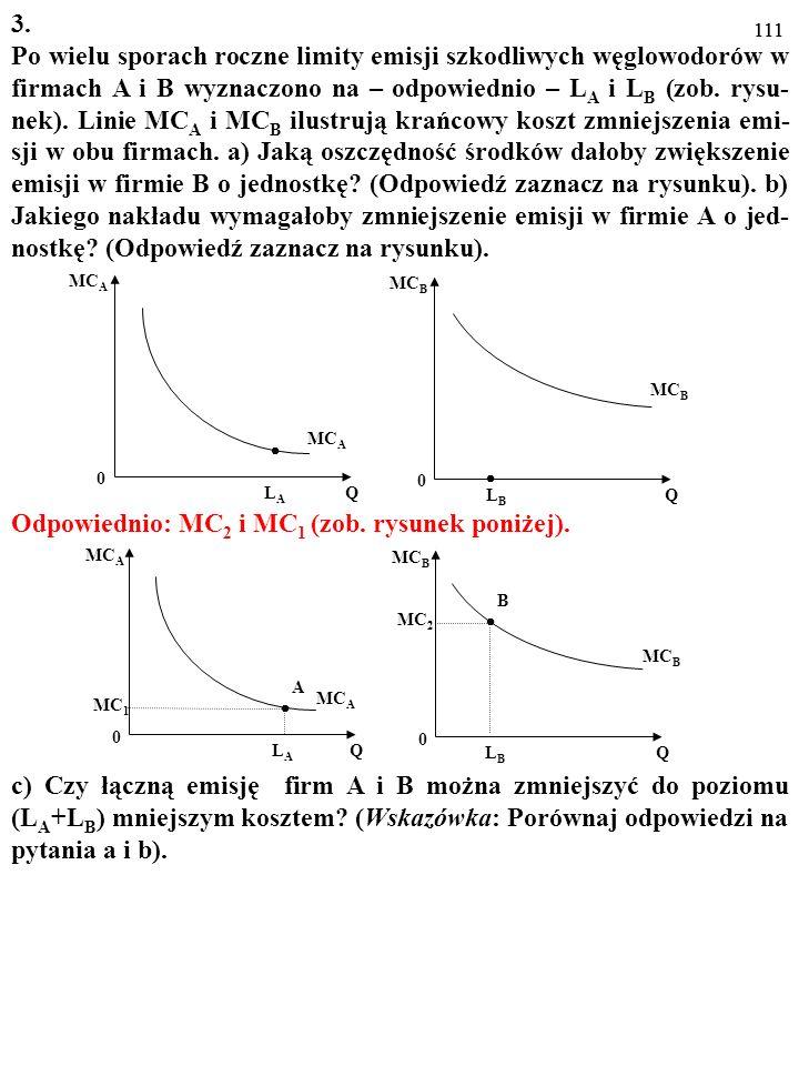 110 LALA MC A Q 0 LBLB MC B Q 0 MC A MC B LALA MC A Q 0 LBLB MC B Q 0 MC 1 MC 2 A B MC B MC A 3. Po wielu sporach roczne limity emisji szkodliwych węg