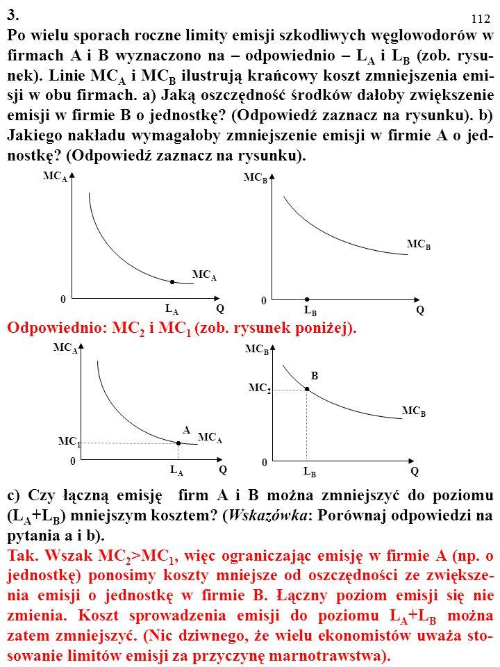 111 LALA MC A Q 0 LBLB MC B Q 0 MC A MC B LALA MC A Q 0 LBLB MC B Q 0 MC 1 MC 2 A B MC B MC A 3. Po wielu sporach roczne limity emisji szkodliwych węg