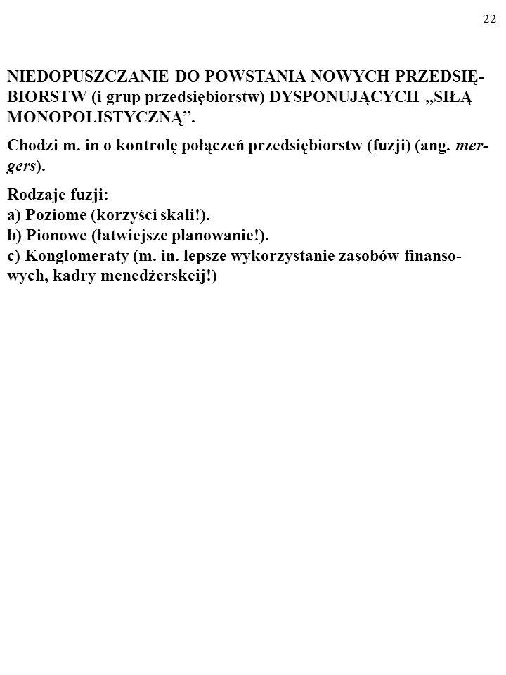 21 (cd. z poprzedniego slajdu) - Konkurowanie w tym zakresie z Pocztą Polską jest nieopłacalne - tłumaczy Michał Czeredys, wiceprezes Zarządu spółki I