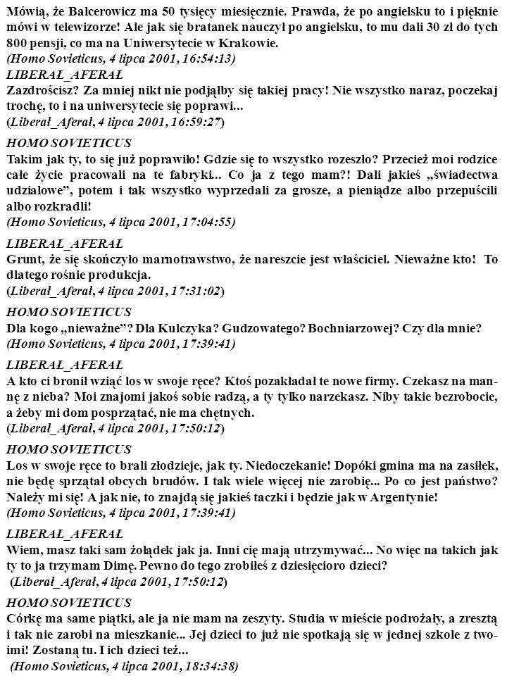 Pamiętasz studium przypadku pt. Od planu do rynku, czyli plan Balcerowicza i jego skutki – odsłona pierwsza? Teraz, z pewnego dystansu, jeszcze raz pr