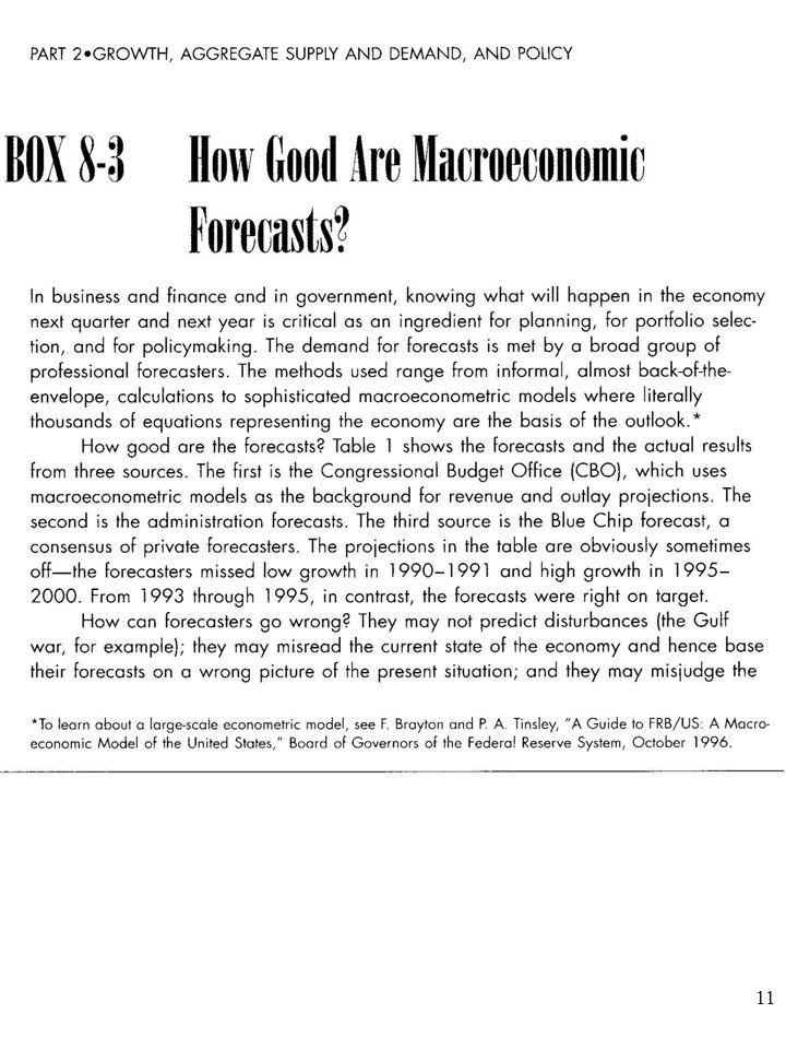 10 Polskich przykładów potwierdzających tę diagnozę Blauga dostarczają krytyczne oceny trafności sporządzanych w Pol- sce prognoz makroekonomicznych publikowane przez Marka Borowskiego.