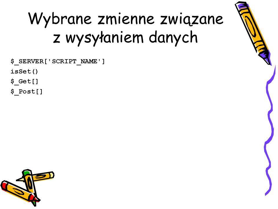 Formularz 1 Hetman <?php // Drukuje formularz i jednocześnie odbiera i wyświetla wpisane w nim dane.