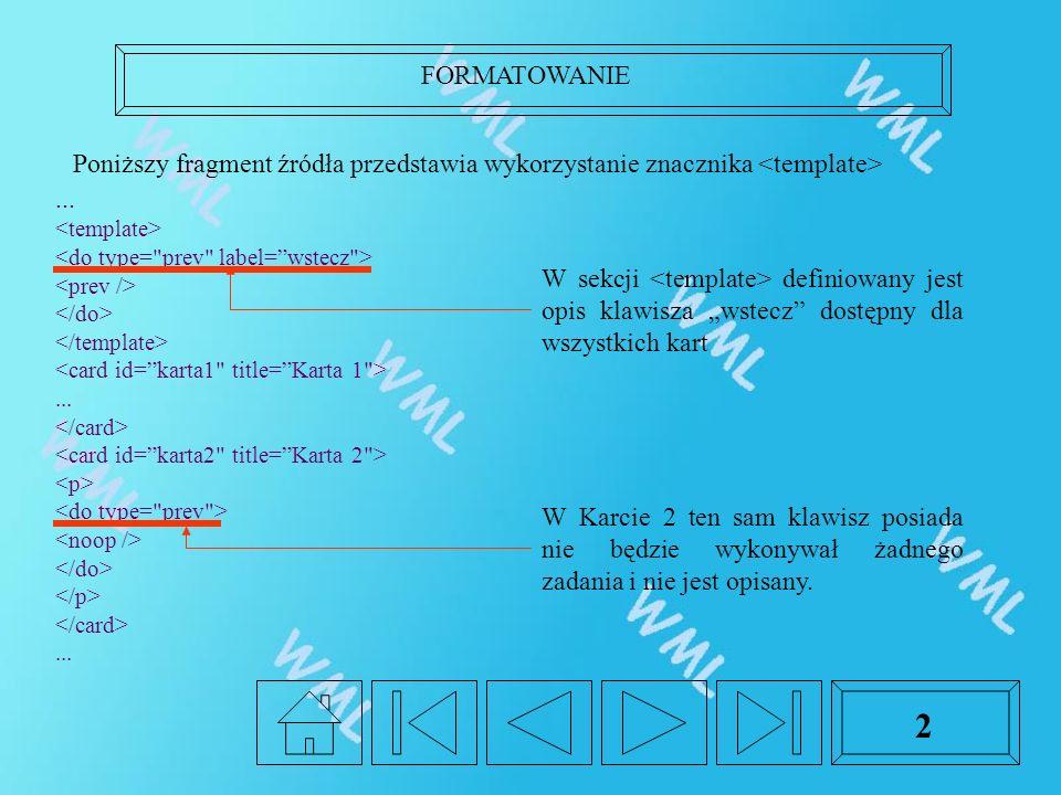 FORMATOWANIE 2...