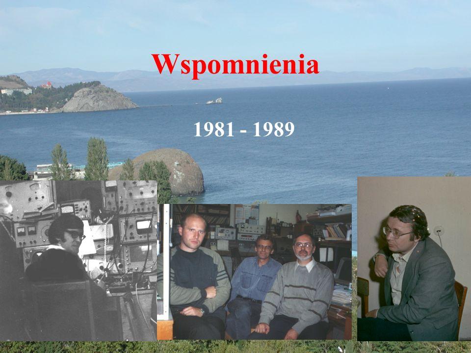 Wspomnienia 1981 - 1989