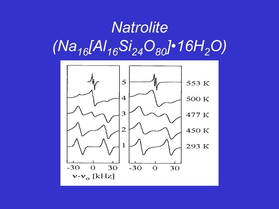 Natrolite (Na 16 [Al 16 Si 24 О 80 ]16H 2 O)