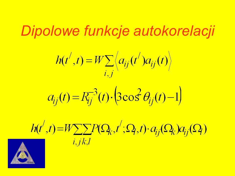 Dipolowe funkcje autokorelacji