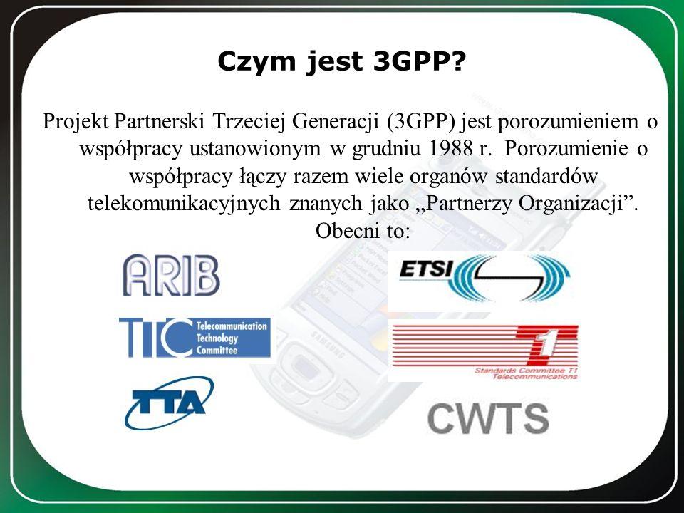 Czym jest 3GPP? Projekt Partnerski Trzeciej Generacji (3GPP) jest porozumieniem o współpracy ustanowionym w grudniu 1988 r. Porozumienie o współpracy