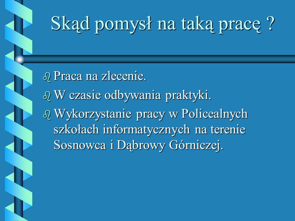 Uwagi i wnioski końcowe.b Wymowność i czytelność systemu edukacyjnego.