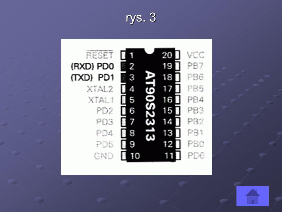 Komparator analogowy Omawiany mikrokontroler, ma na pokładzie pożyteczny element analogowy: komparator.