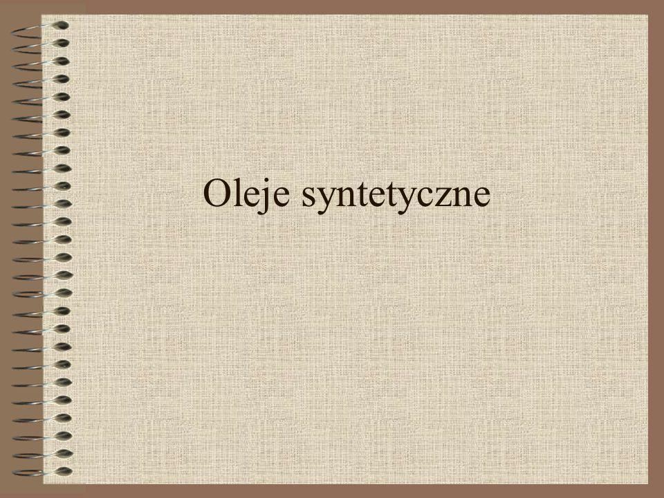 Oleje syntetyczne