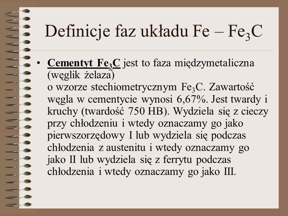 Fe 3 C III III