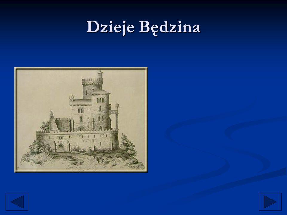 Będzin, związany nierozerwalnie z średniowiecznym systemem obronnym na Jurze Krakowsko- Częstochowskiej (dzisiejszy szlak Orlich Gniazd ), stanowił pierwszy punkt oporu przeciw najeźdźcom z zachodu.
