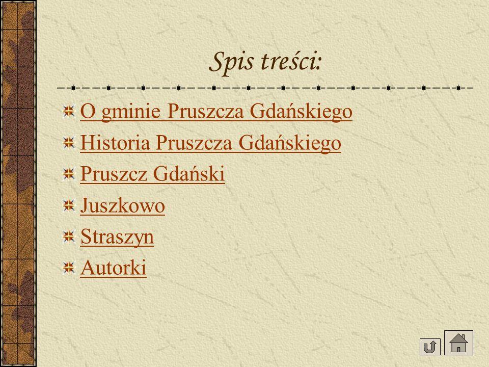 Gmina Pruszcz Gdański Gmina Pruszcz Gdański należy do województwa pomorskiego, oddalona jest o 10 km od Gdańska.