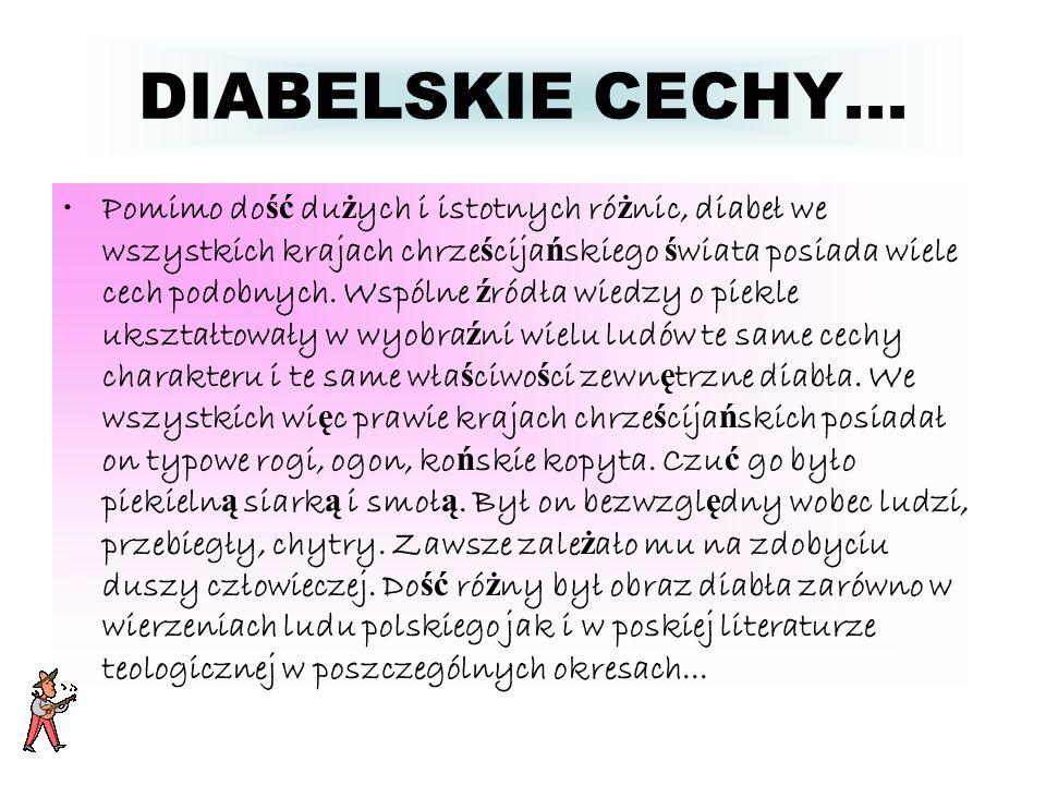 DIABELSKIE CECHY...