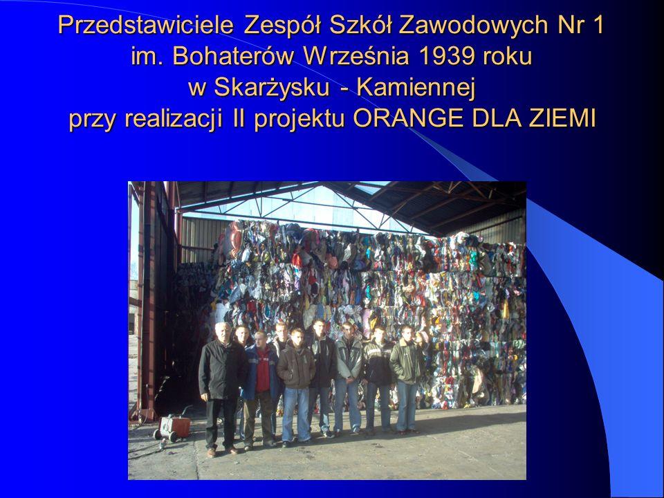 Dziękujemy prezesowi PPHU WTÓRPOL panu Leszkowi Wojteczkowi za zapoznanie z produkcją i działalnością zakładu. Więcej informacji o firmie znajdziecie