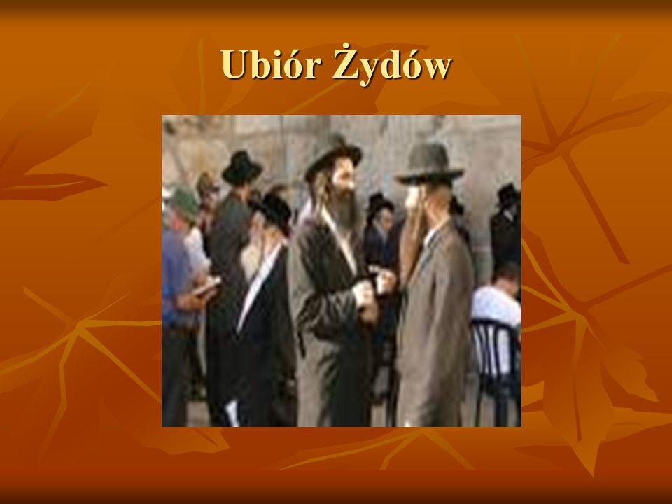 Ubiór Żydów