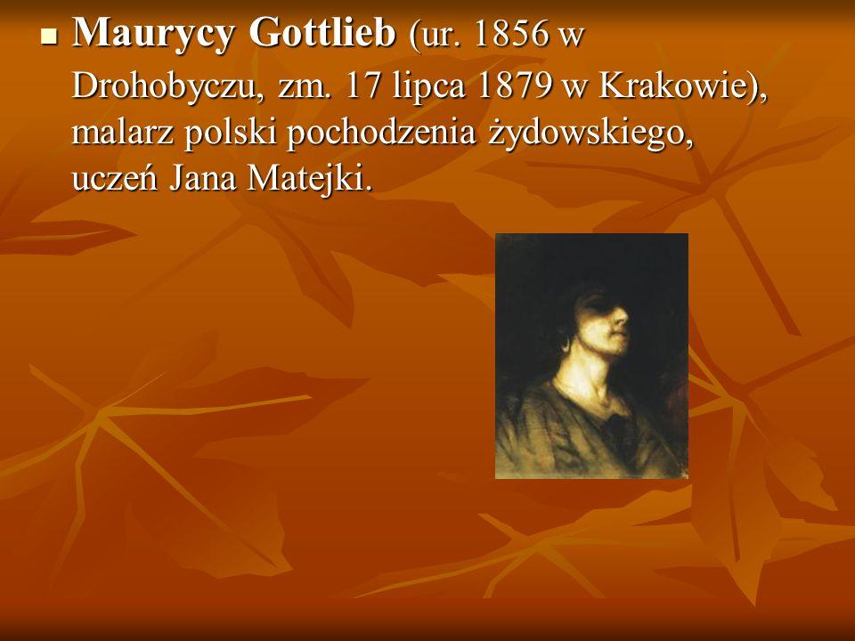 Maurycy Gottlieb (ur. 1856 w Drohobyczu, zm. 17 lipca 1879 w Krakowie), malarz polski pochodzenia żydowskiego, uczeń Jana Matejki. Maurycy Gottlieb (u