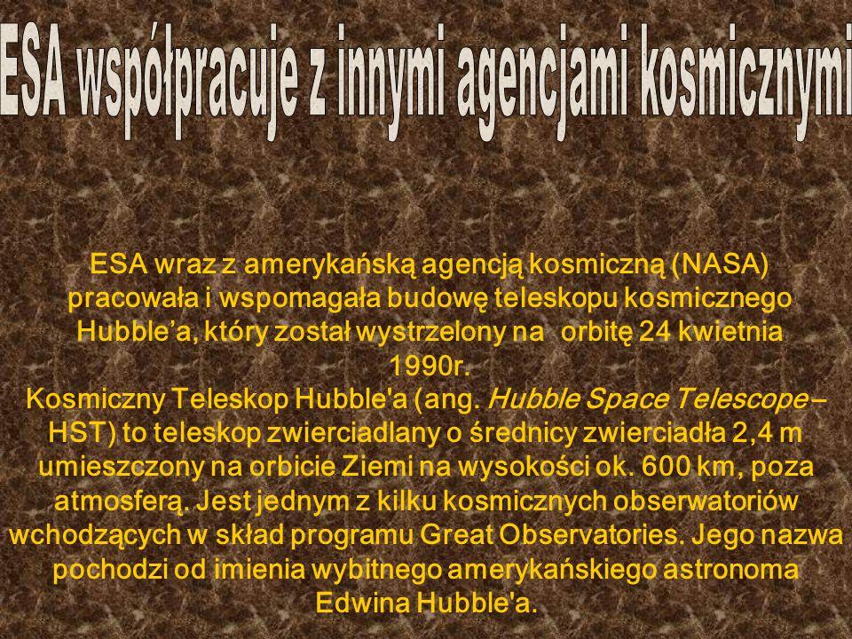ESA bierze też udział w odkrywaniu nowych technologii kosmicznych, w ramach tego projektu powstał SMART: SMART-1 (ang.