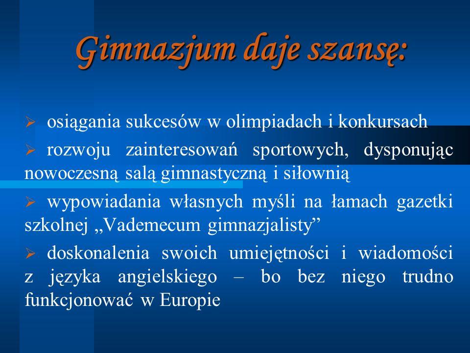Patron Szkoły 14 października 2001 roku, Publicznemu Gimnazjum w Nowym Duninowie nadano imię księdza Kardynała Stefana Wyszyńskiego.