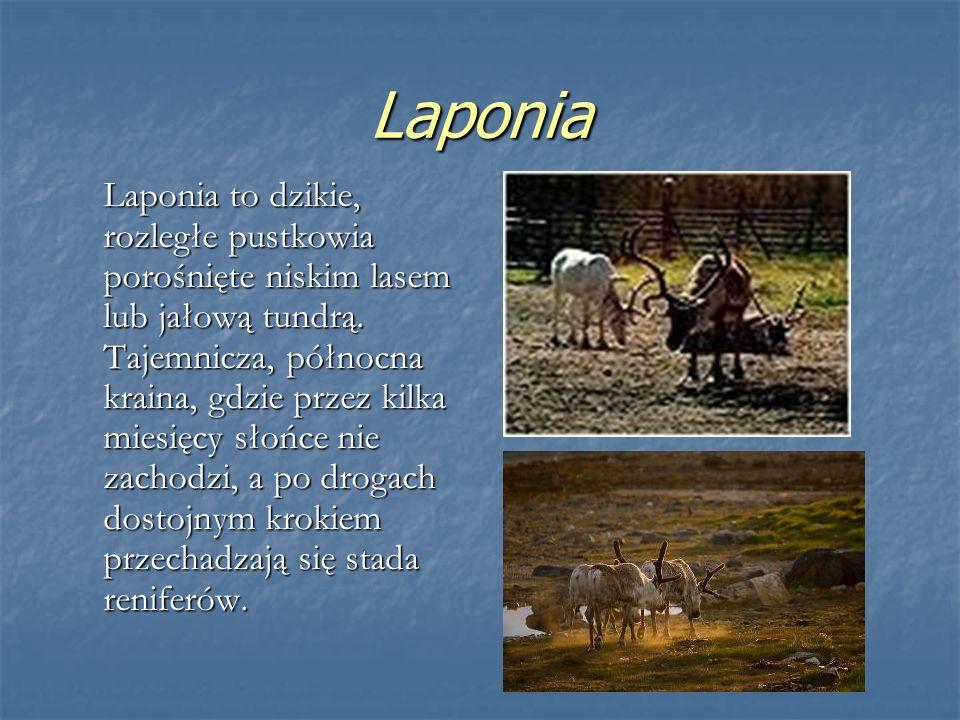 Lapończycy są mniejszością narodową Finlandii.