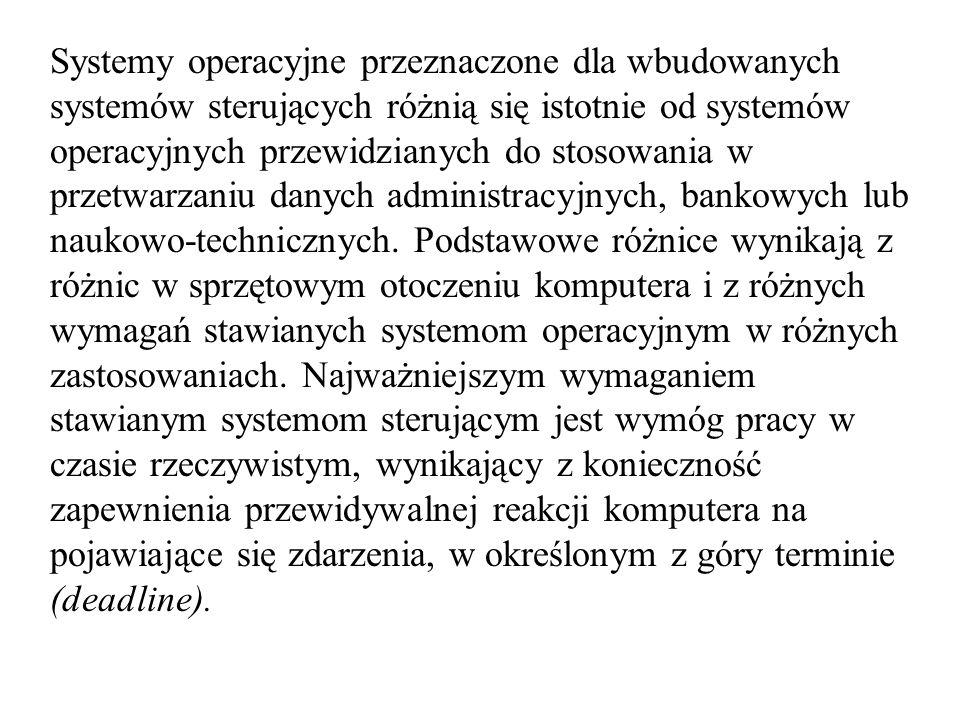 Egzekutor synchroniczny (l1-lista zadań wykonywanych w każdym czasie L2-lista zadań wykonywanych w okresach nadrzędnych)
