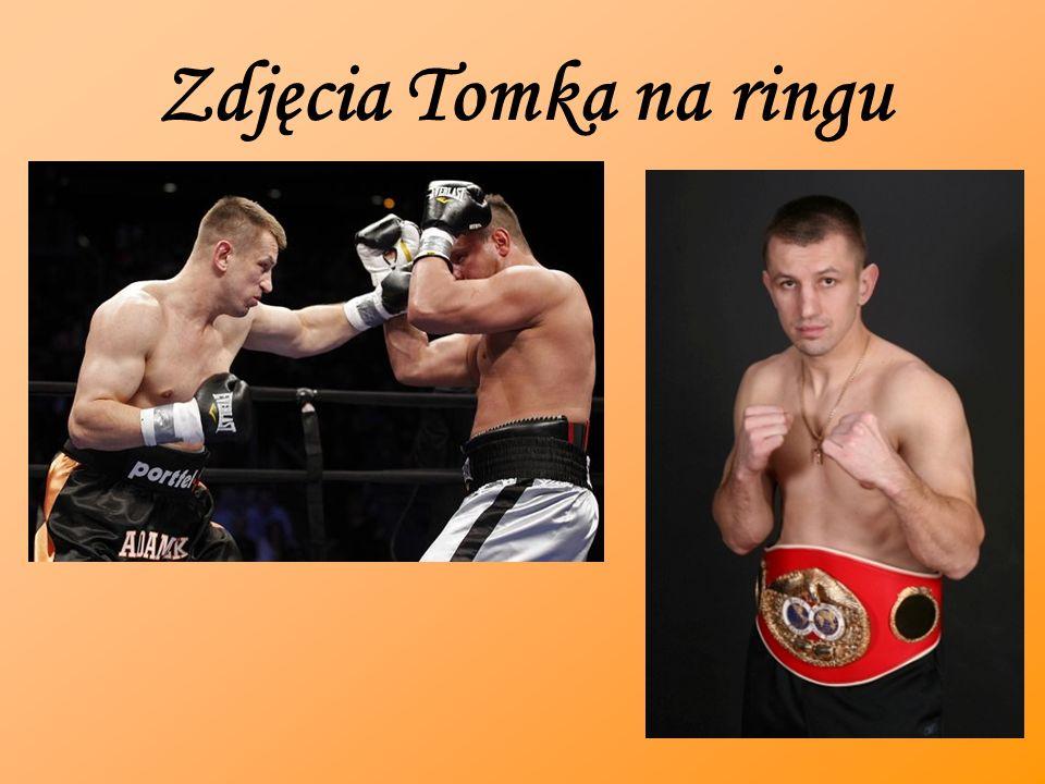 Zdjęcia Tomka na ringu