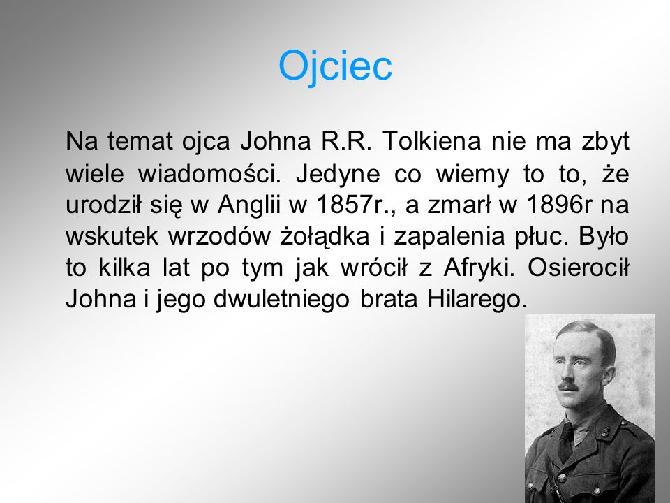 Hobbit, czyli tam i z powrotem Książka napisana w 1937r.