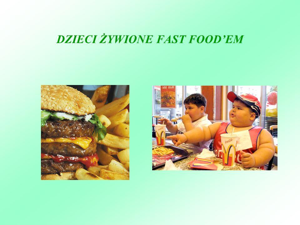 DZIECI ŻYWIONE FAST FOODEM