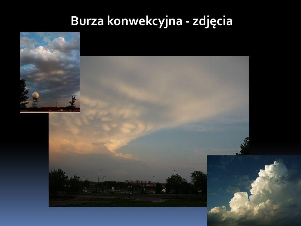 Burza konwekcyjna - zdjęcia