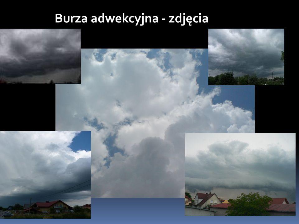 Burza adwekcyjna - zdjęcia