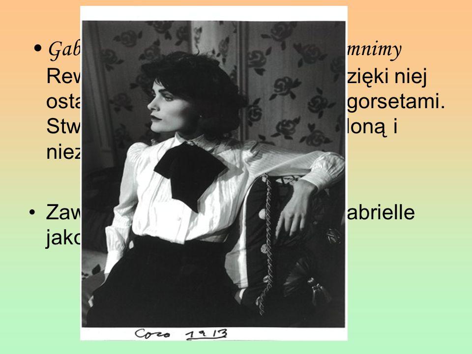 Gabrielle Bonheur Chanel Niezapomnimy Rewolucjonistka świata mody. Dzięki niej ostatecznie pożegnałyśmy się z gorsetami. Stworzyła nowa kobietę - wyzw