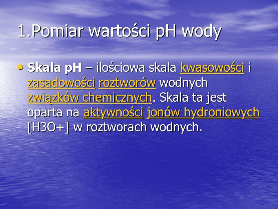 Przykładowe wartości pH 1 M kwas solny 0 1 M kwas solny 0 1 Mkwas solny 1 Mkwas solny Kwas akumulatorowy < 1,0 Kwas akumulatorowy < 1,0akumulatorowy Kwas żołądkowy 1,5 – 2 Kwas żołądkowy 1,5 – 2 Kwas żołądkowy Kwas żołądkowy Sok cytrynowy 2,4 Sok cytrynowy 2,4cytrynowy Coca-cola 2,5 Coca-cola 2,5 Coca-cola Ocet 2,9 Ocet 2,9 Ocet Sok pomarańczowy 3,5 Sok pomarańczowy 3,5pomarańczowy Piwo 4,5 Piwo 4,5 Piwo Kawa 5,0 Kawa 5,0 Kawa Herbata 5,5 Herbata 5,5 Herbata Kwaśny deszcz < 5,6 Kwaśny deszcz < 5,6 Kwaśny deszcz Kwaśny deszcz Mleko 6,5 Mleko 6,5 Mleko Chemicznie czysta woda 7 Chemicznie czysta woda 7woda Ślina człowieka 6,5 – 7,4 Ślina człowieka 6,5 – 7,4 Ślina Krew 7,1 – 7,4 Krew 7,1 – 7,4 Krew Woda morska 8,0 Woda morska 8,0 Woda morska Woda morska Mydło 9,0 – 10,0 Mydło 9,0 – 10,0 Mydło Woda amoniakalna 11,5 Woda amoniakalna 11,5 Woda amoniakalna Woda amoniakalna Wodorotlenek wapnia 12,5 Wodorotlenek wapnia 12,5 Wodorotlenek wapnia Wodorotlenek wapnia 1 M roztwór NaOH 14 1 M roztwór NaOH 14roztwórNaOHroztwórNaOH