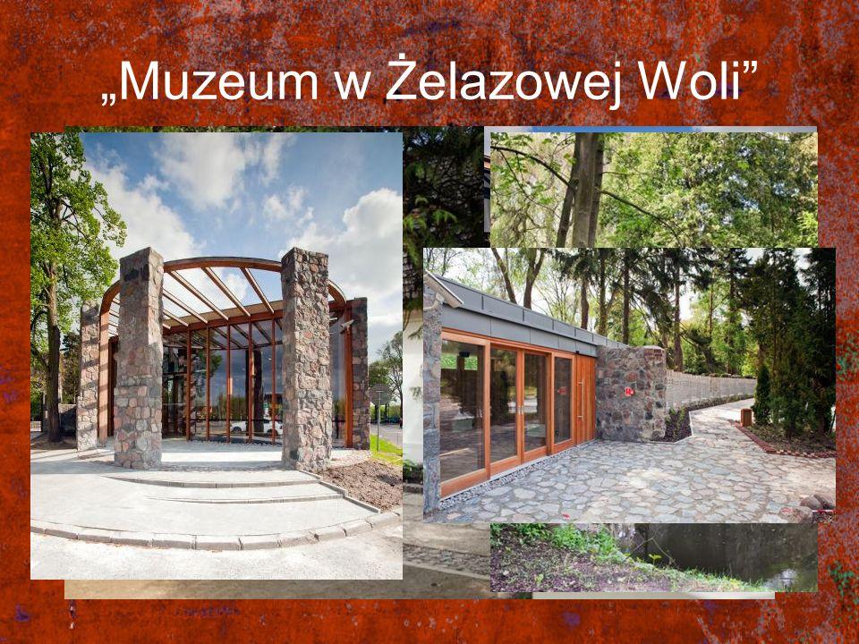 Muzeum w Żelazowej Woli Muzeum w Żelazowej Woli zostało powiększone o nowy budynek. Stary domek został odnowiony. Odświeżono park. Zarówno dworek jak
