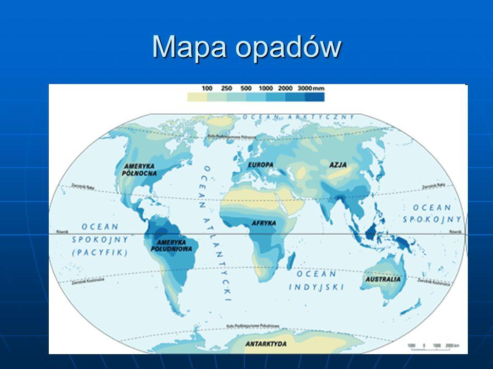Mapa opadów
