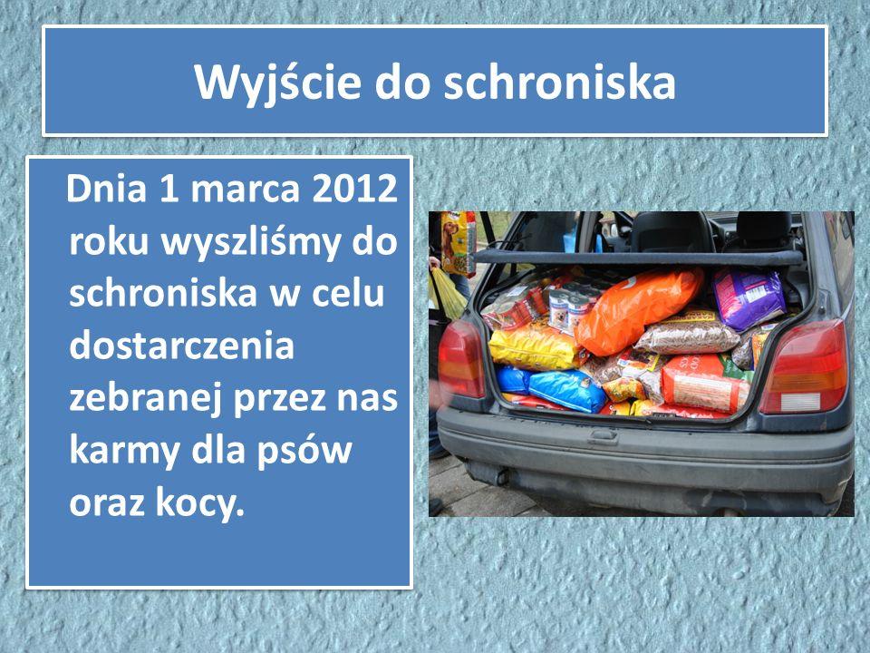 Zbiórka makulatury W trakcie trwania projektu zebraliśmy około 970kg makulatury, z których pieniądze zostały przekazane na leki dla chorych zwierząt.
